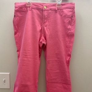 Summer Clearance NY&Co Pink Crop Legging